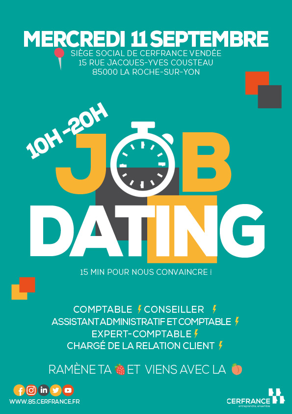 job dating en vend u00e9e - page